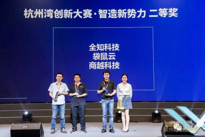 数据中台服务商袋鼠云荣获WISE2020杭州湾创新大赛 · 智造新势力二等奖