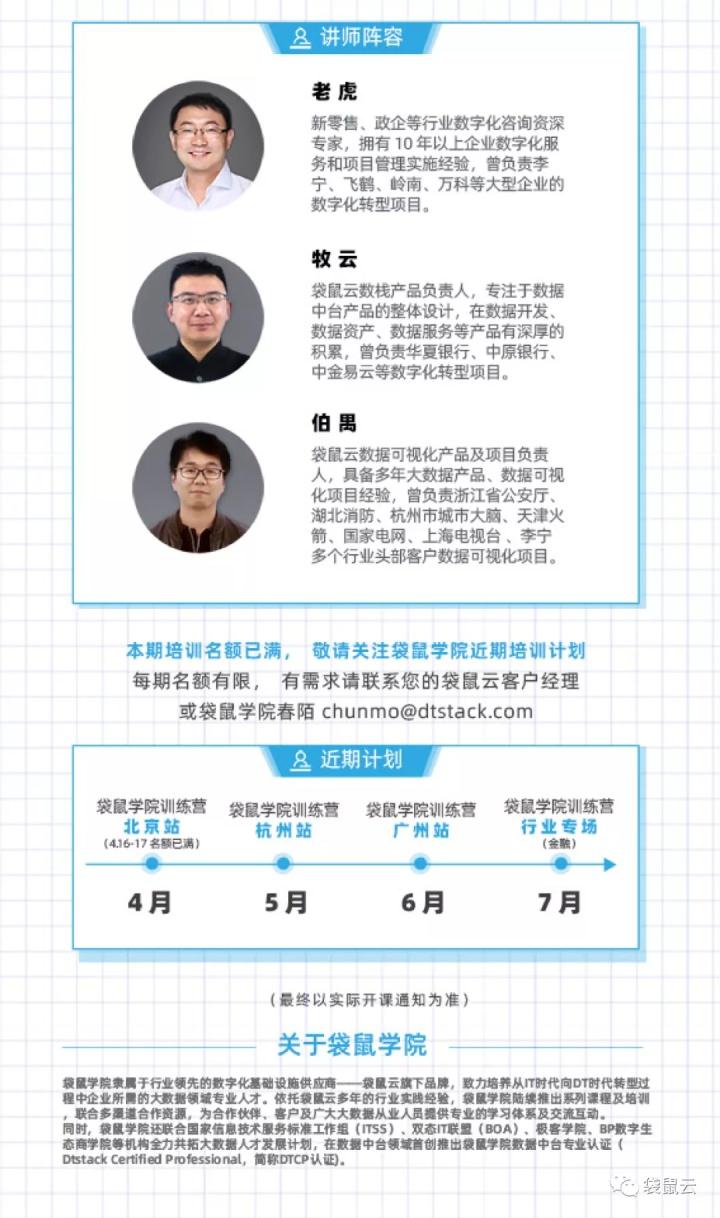 袋鼠学院线下训练营 · 北京站4月16日开课啦!